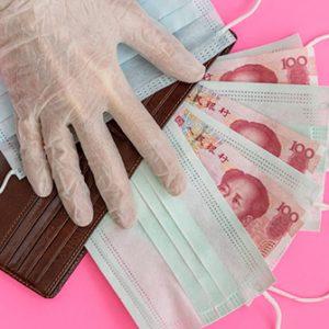 Masken und Renminbi