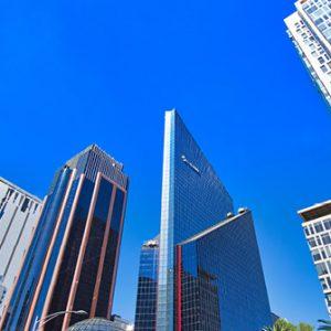 Skyline Finanzzentrum Mexiko City
