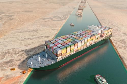 Ever Given Blockade Suezkanal