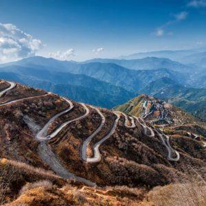 Alte Seidenstraße im indischen Sikkim
