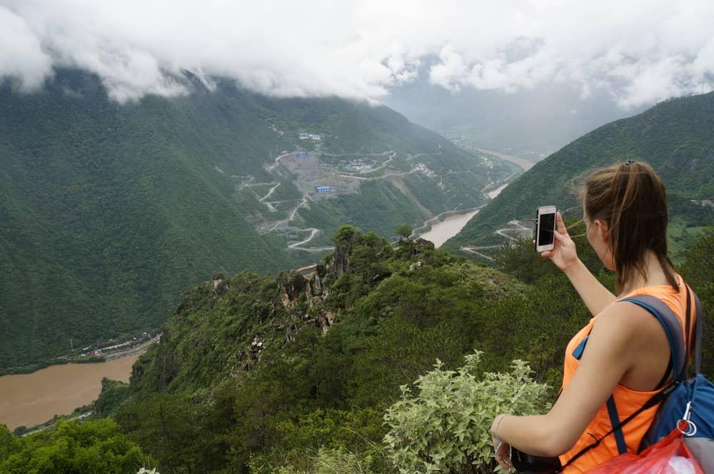 Blick auf den Yangtse