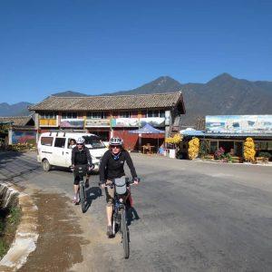 Radfahren in Asien